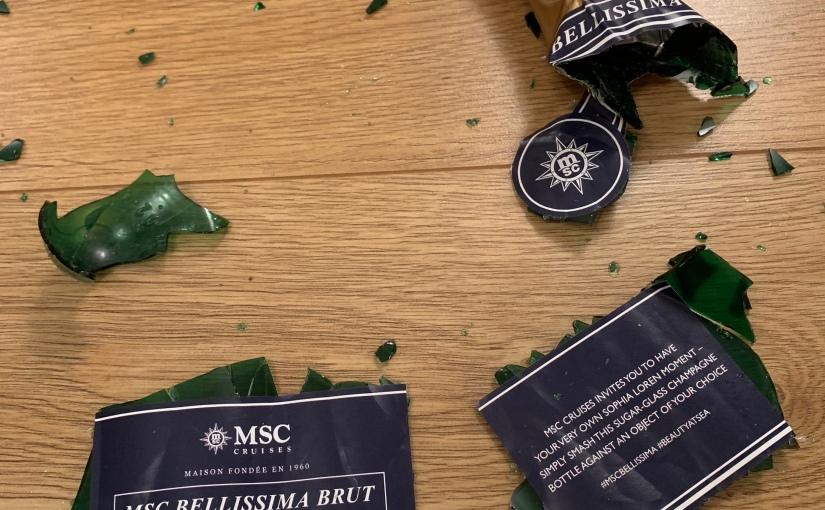 MSC Bellissima Christening