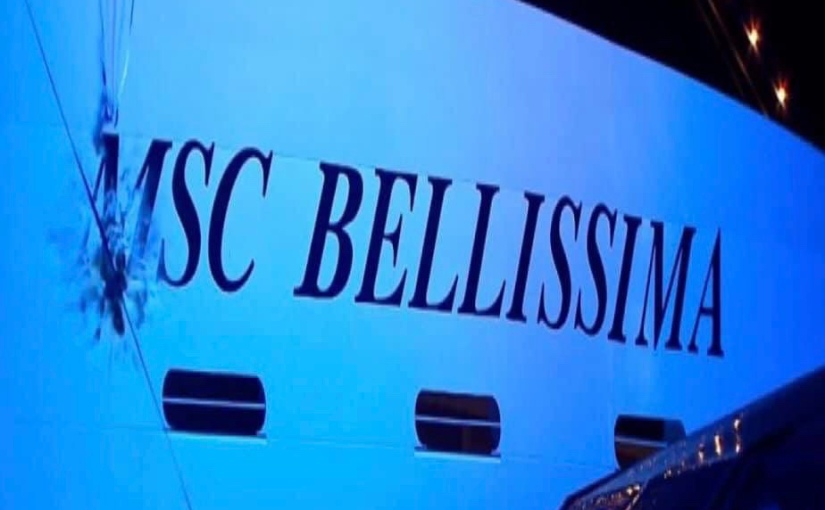 MSC BELLISSIMA named inSouthampton