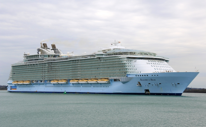 Allure of the Seas Arrives in Southampton