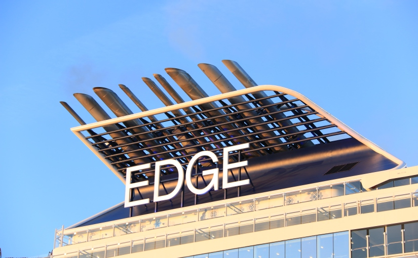 Celebrity Edge makes her Southampton debut