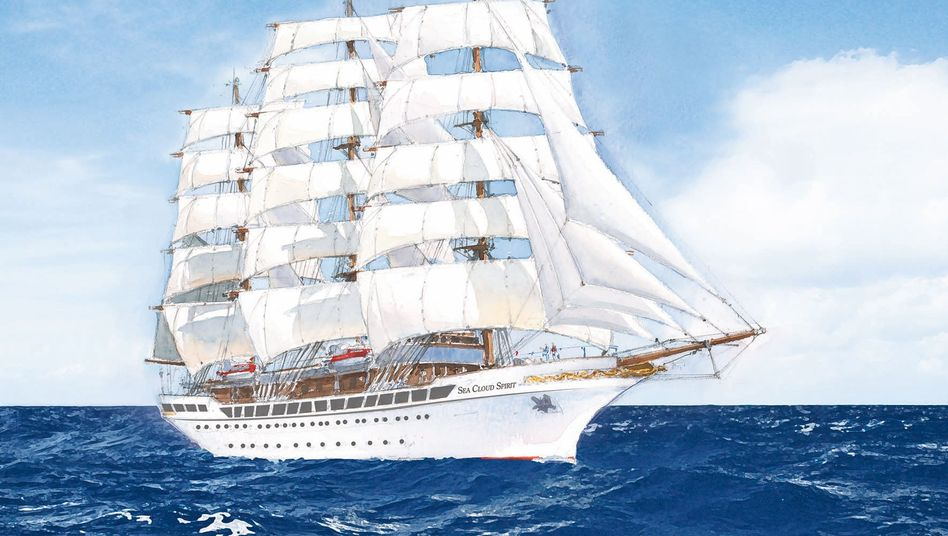 Sea Cloud Cruises stellt 2020 neuen Großsegler in Dienst