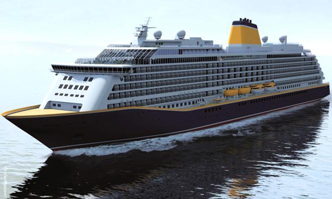 Rendering of Saga Cruises Spirit of Adventure