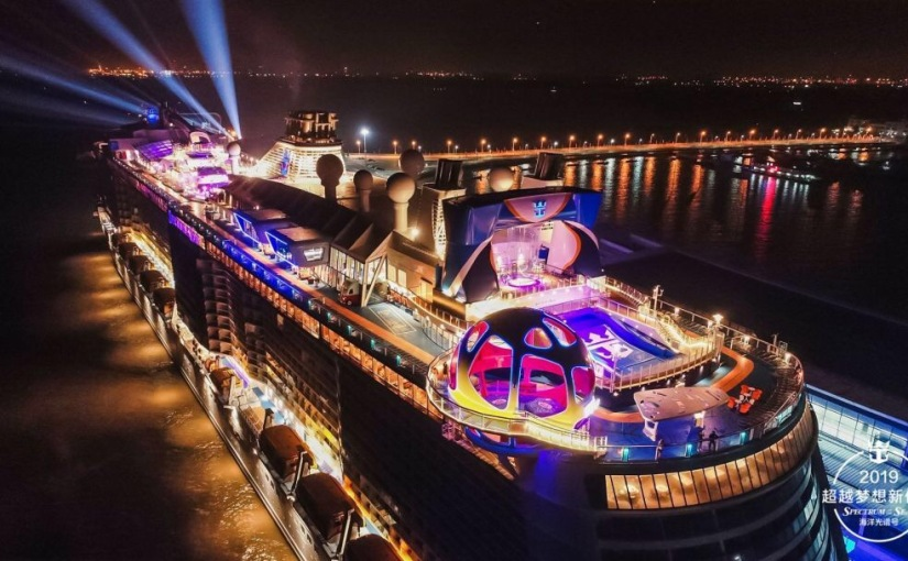 SPECTRUM OF THE SEAS CELEBRATES INAUGURAL SEASON IN CHINA