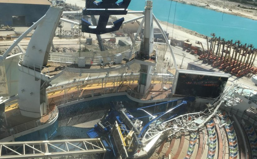 Oasis of the Seas Involved in Dry Dock Accident at Grand BahamaShipyard