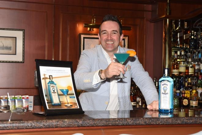 Sam Carter, Senior Brand Ambassador, Bombay Sapphire Distillery