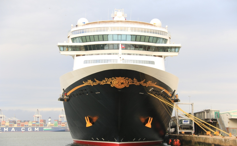 Disney Fantasy makes her maiden call to Southampton